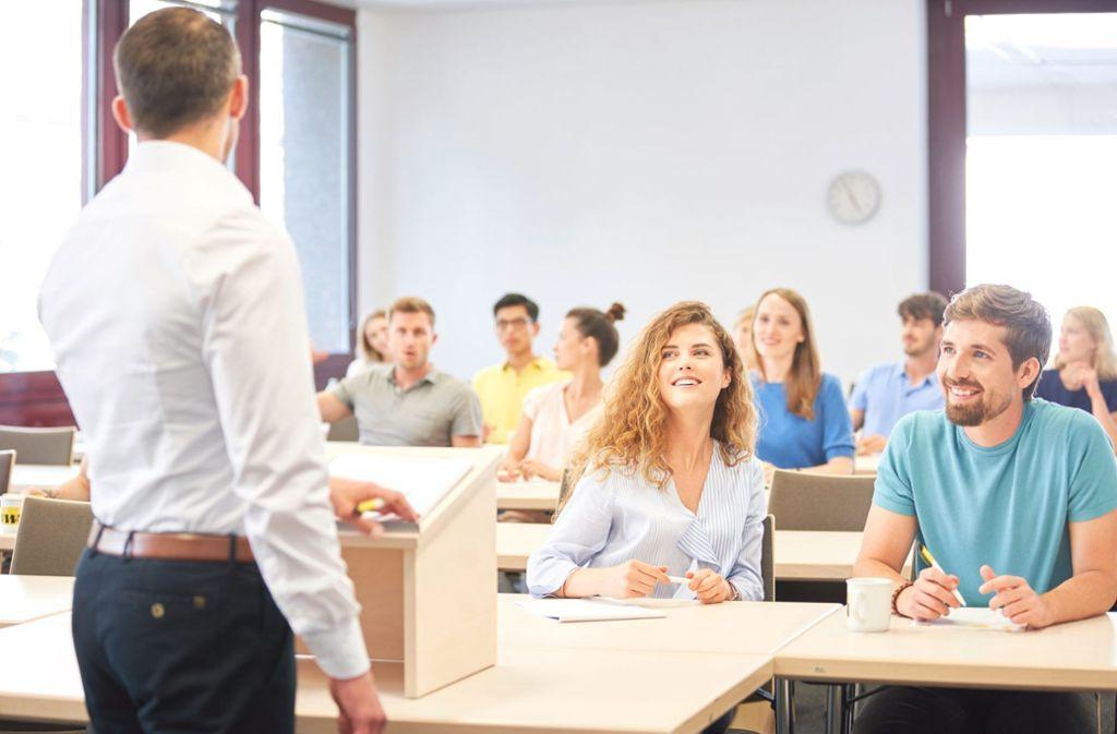 Lernen macht Freude in den klimatisierten Räumen des VWA-Bildungshauses. Foto: VWA