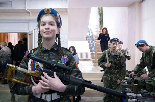 Tief in Russland, wo der  Weltkrieg nicht aufhört