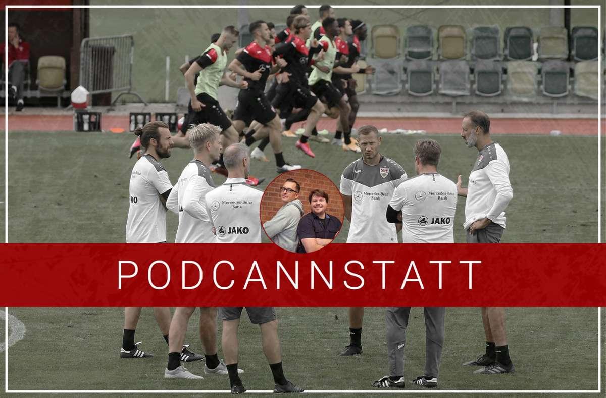 Der VfB-Podcast unserer Redaktion feiert in der 121. Folge eine Premiere. Foto: StZN/Baumann