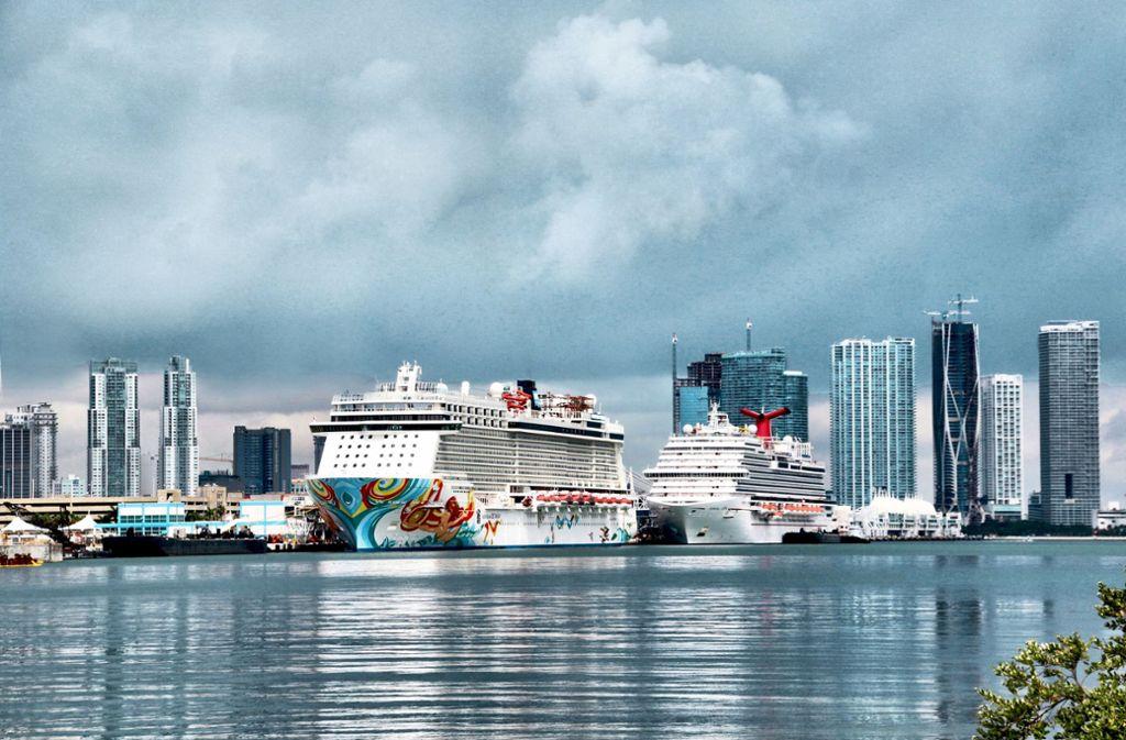 Allein 2018  stachen über 5,3 Millionen Reisende von Miami aus in See. Foto: prz