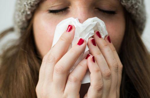 Zahl der Grippefälle steigt rasant an