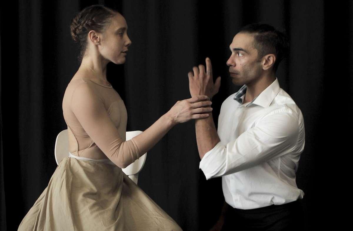 """Yolanda Correa und Jason Reilly in der Choreografie """"Miss Julie"""" Foto: Jubal Battisti"""