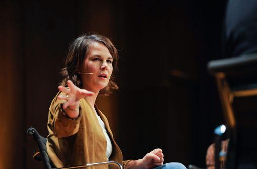 Grünen-Kanzlerkandidatin lobt Südwesten als Vorbild