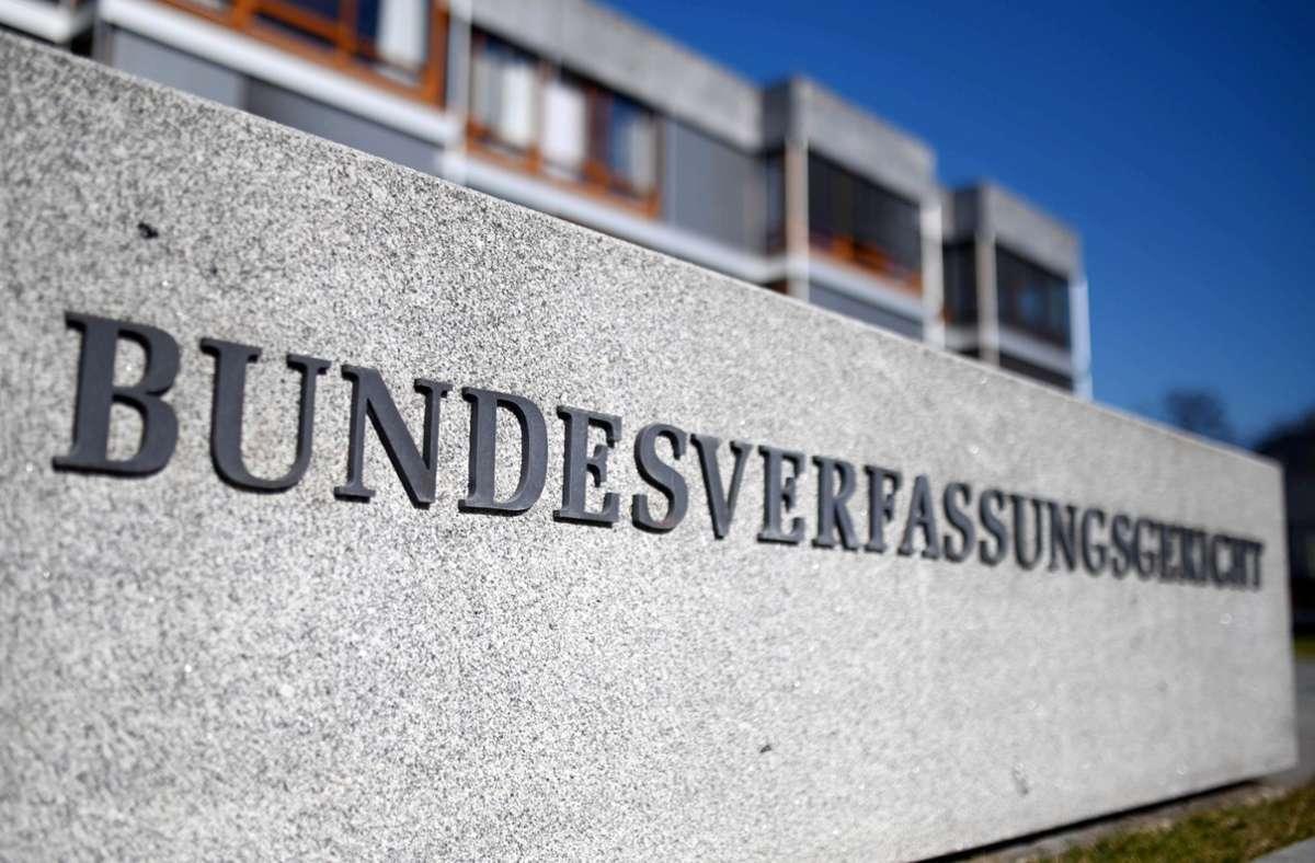 Das Bundesverfassungsgericht in Karlsruhe. Foto: dpa/Uli Deck