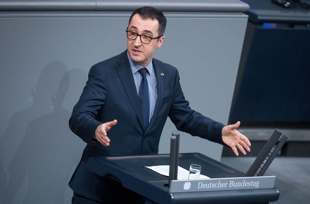 Cem Özdemir will im Bundestag für moderne und saubere Mobilität kämpfen. Foto: dpa