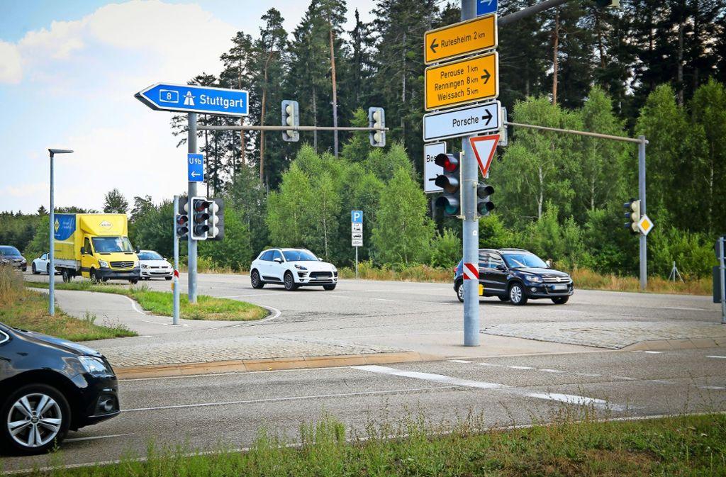 Die Autofahrer  müssen an dieser Stelle wieder mit langen Staus rechnen. Foto: factum/Granville