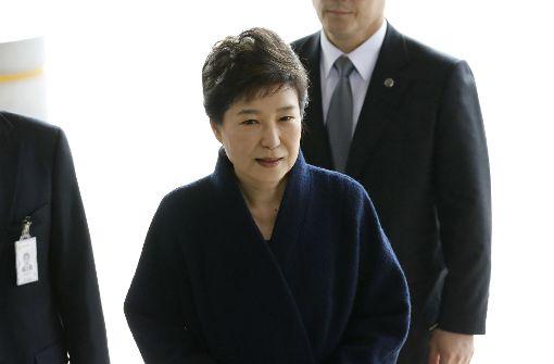 Haftbefehl für Südkoreas Ex-Präsidentin beantragt