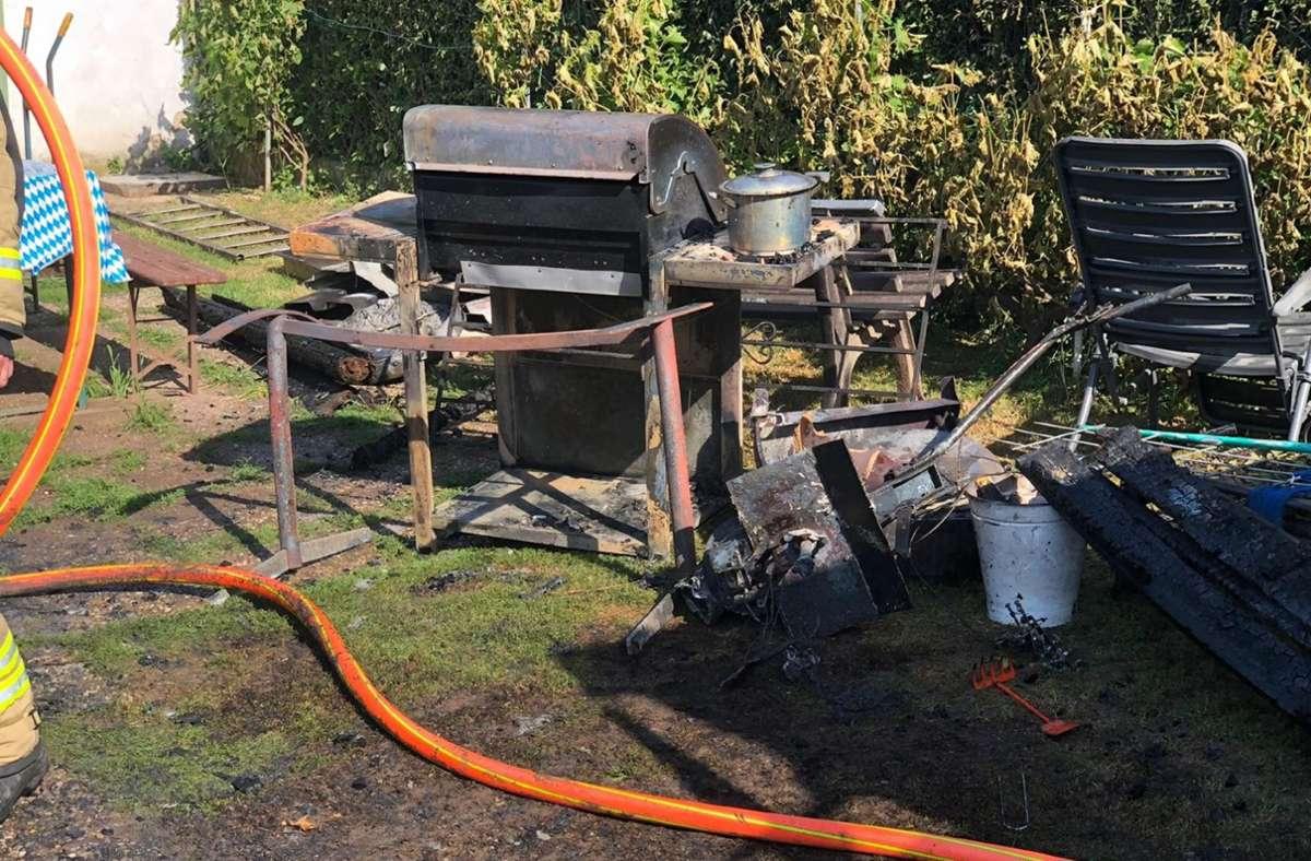 In einer Gartenanlage in Böblingen gab es einen Brand. Foto: SDMG/Dettenmeyer