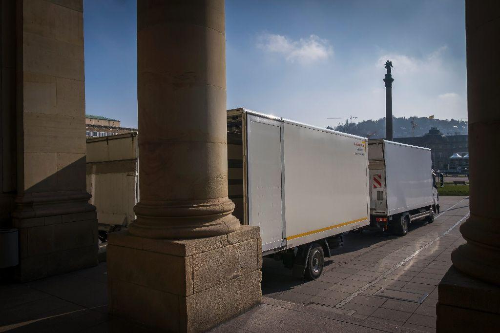 Auch beim Feinstaubalarm müssen Waren ausgeliefert werden und Handwerker zu Baustellen fahren. Foto: Lichtgut/Max Kovalenko