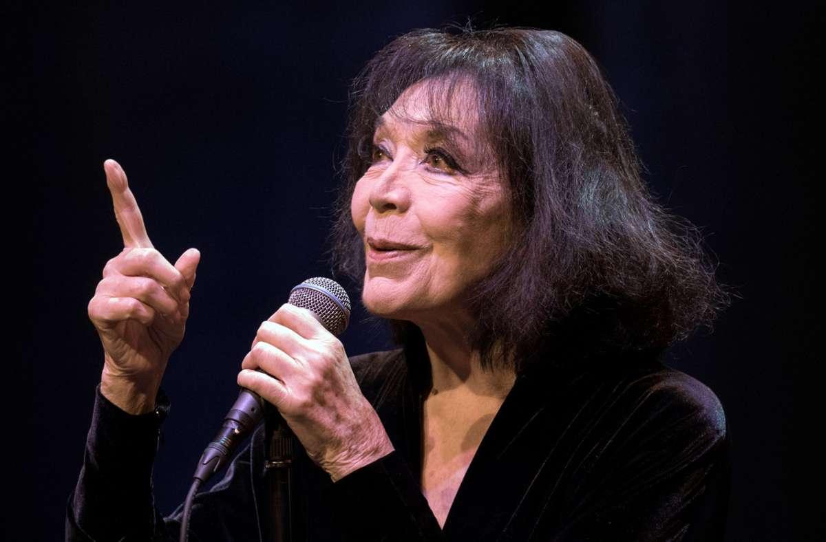 Juliette Gréco, eine Ikone des Chansons (Archivbild) Foto: dpa/Boris Roessler