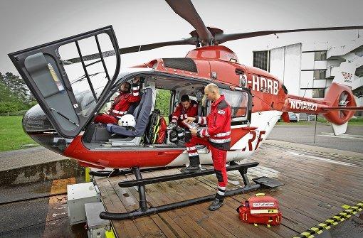 Die fliegende Notfall- und Intensivstation