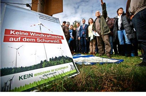 Expertenrunde zur Windkraft auf dem Goldboden