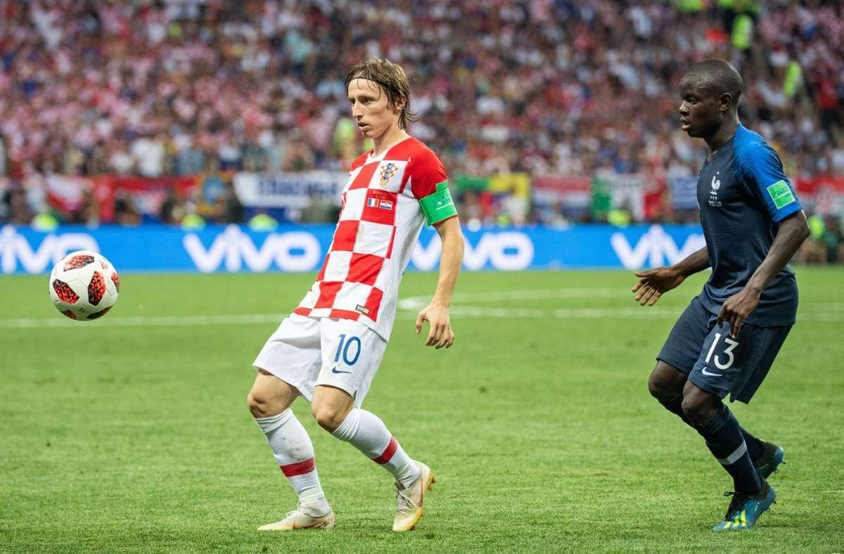 Luka Modric (links) und N'Golo Kanté gehören zu den tragenden Säulen ihrer Teams. Foto: imago/Bildbyran