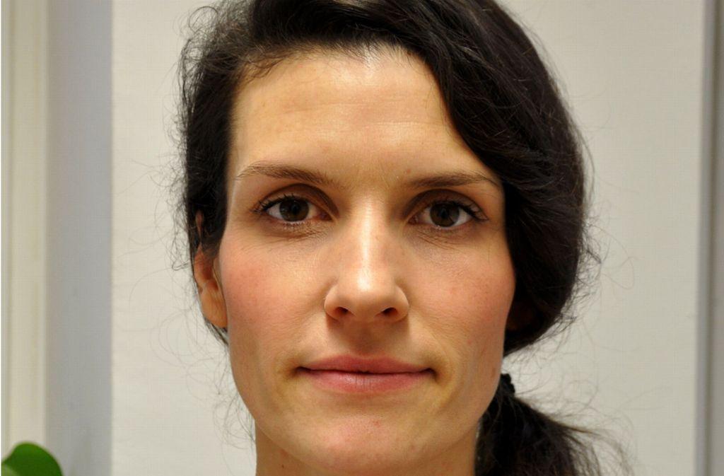 Sarah Hubel leitet die Maske im Alten Schauspielhaus Stuttgart Foto: