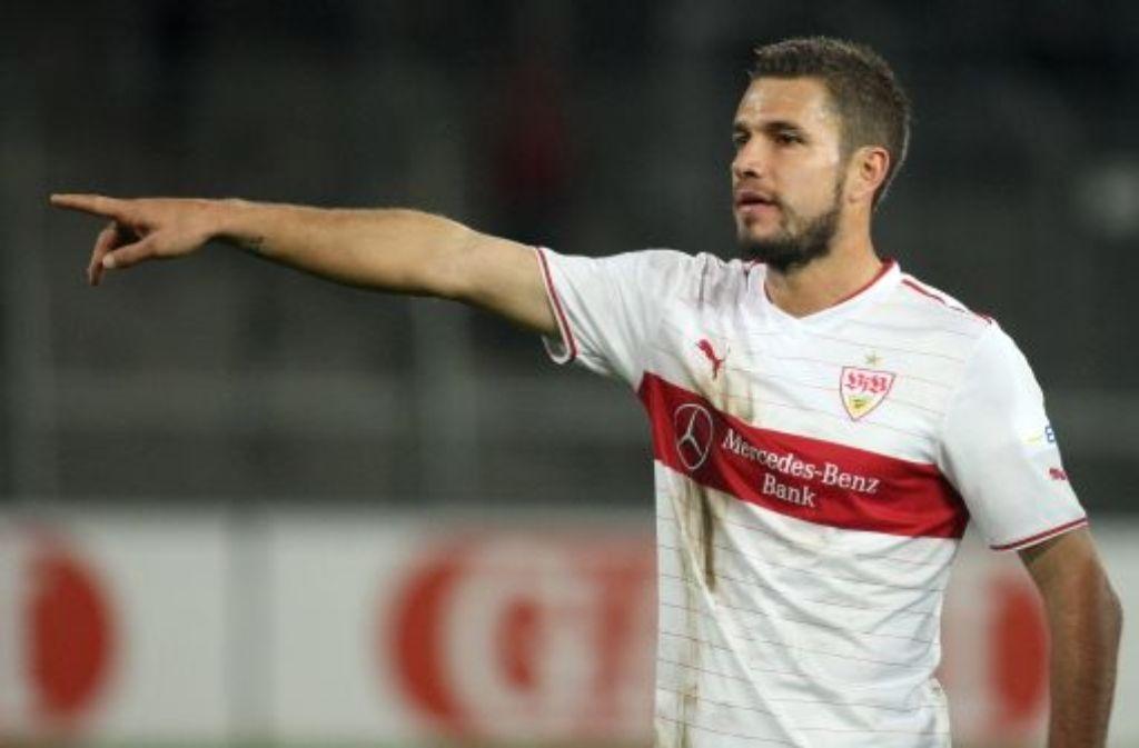 VfB-II-Angreifer Marco Grüttner trifft zweimal gegen Osnabrück. Foto: Pressefoto Baumann