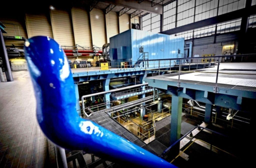 Das bestehende Kraftwerk ist zu groß für die aktuellen Bedürfnisse. Foto: Lichtgut/Achim Zweygarth