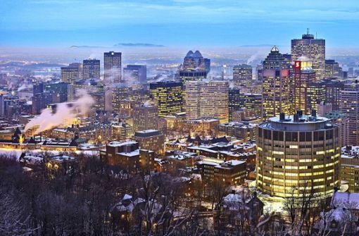 Im warmen Bauch von  Montreal
