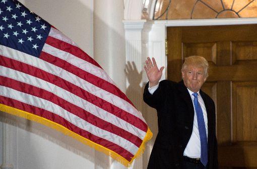 Wahlmänner stimmen gegen Clinton und für Trump