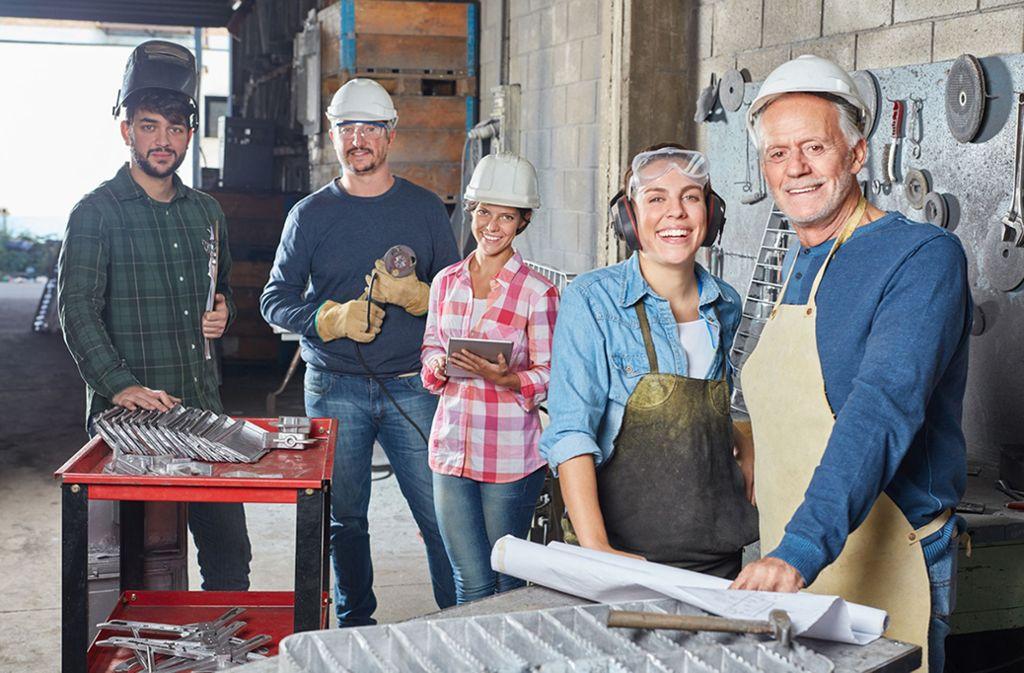 Handwerker haben Grund zu Optimismus. Foto: Robert Kneschke - stock.adobe.co