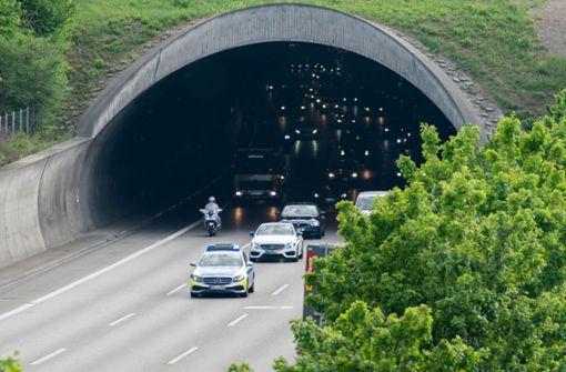 Sperrungen rund um den Engelbergtunnel