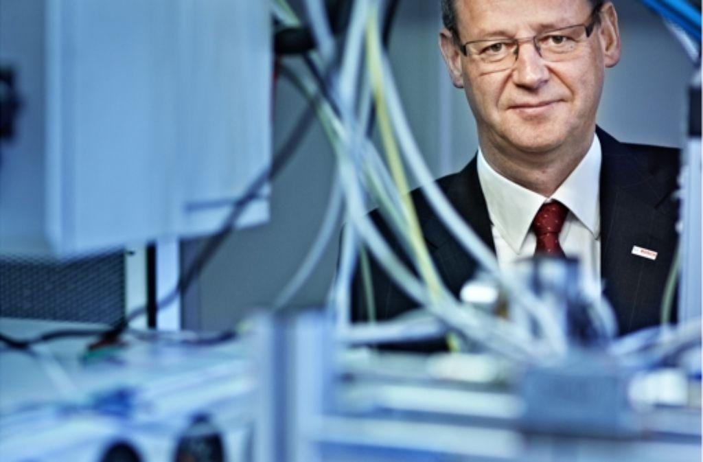 Ein Analytiker, nicht nur im Beruf: Friedrich Boecking in seinem Labor Foto: Heiss