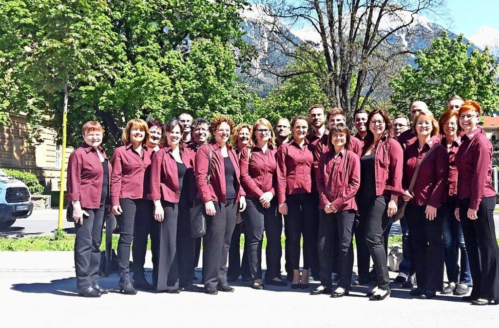 Vor der malerischen Kulisse Innsbrucks erspielen sich Foto: privat