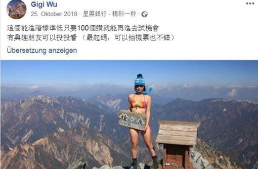 Bikini-Bergsteigerin im Gebirge tödlich verunglückt