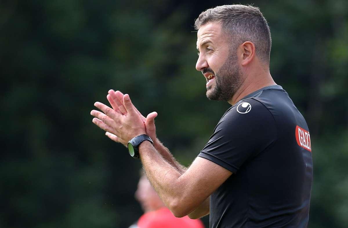Mustafa Ünal übernimmt das Oberligateam der Stuttgarter Kickers. Foto: Baumann/Julia Rahn