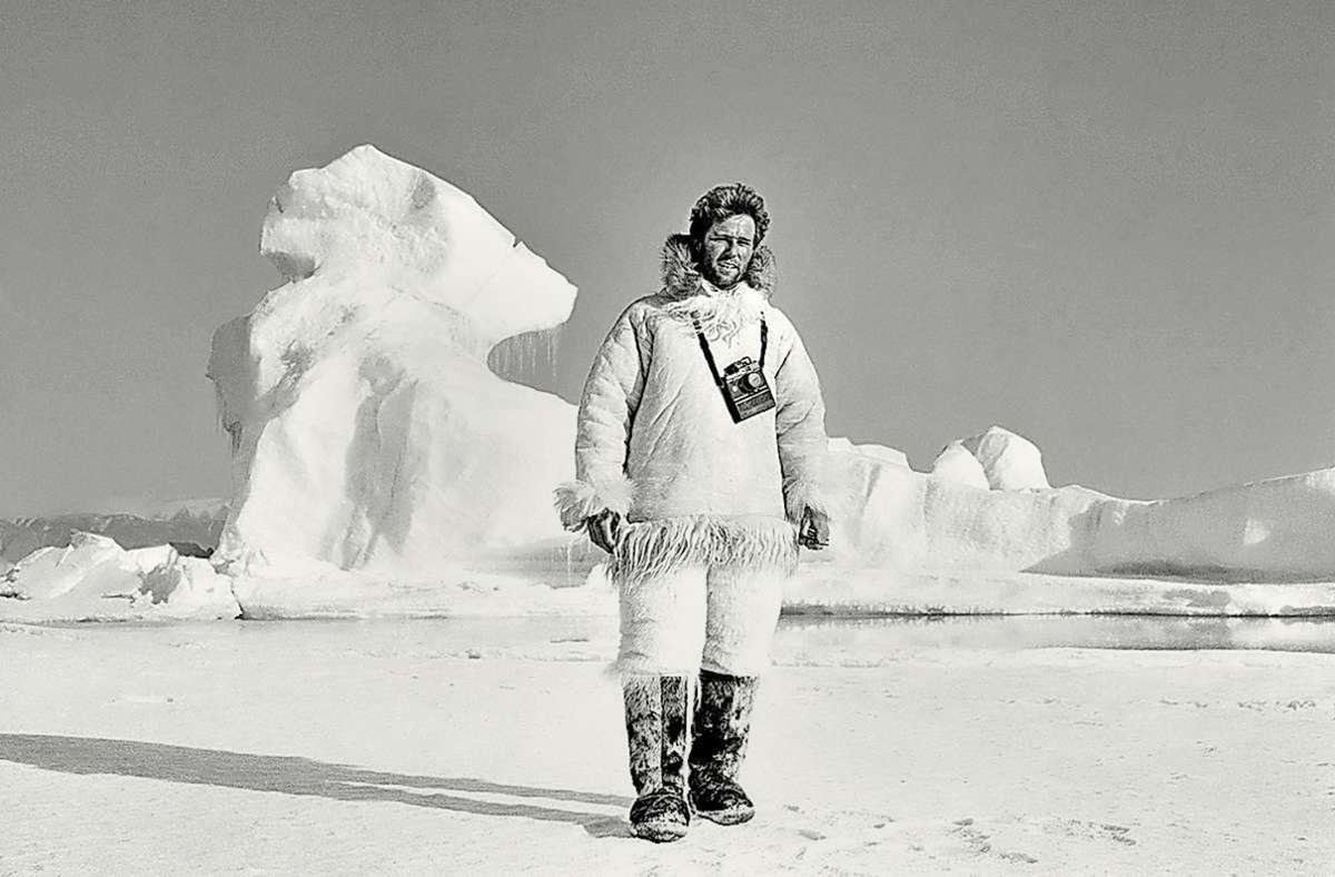 Ragnar Axelsson (Jahrgang 1958) lebt in Reykjavík. Das Bild zeigt ihn im Jahr 1987. Seine Fotografien sehen Sie in unserer Bildergalerie. Foto: Ragnar Axelsson