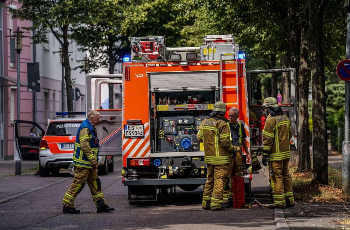 Die Feuerwehr war mit fünf Fahrzeugen und 28 Feuerwehrleuten im Einsatz. Foto: SDMG/Kohls