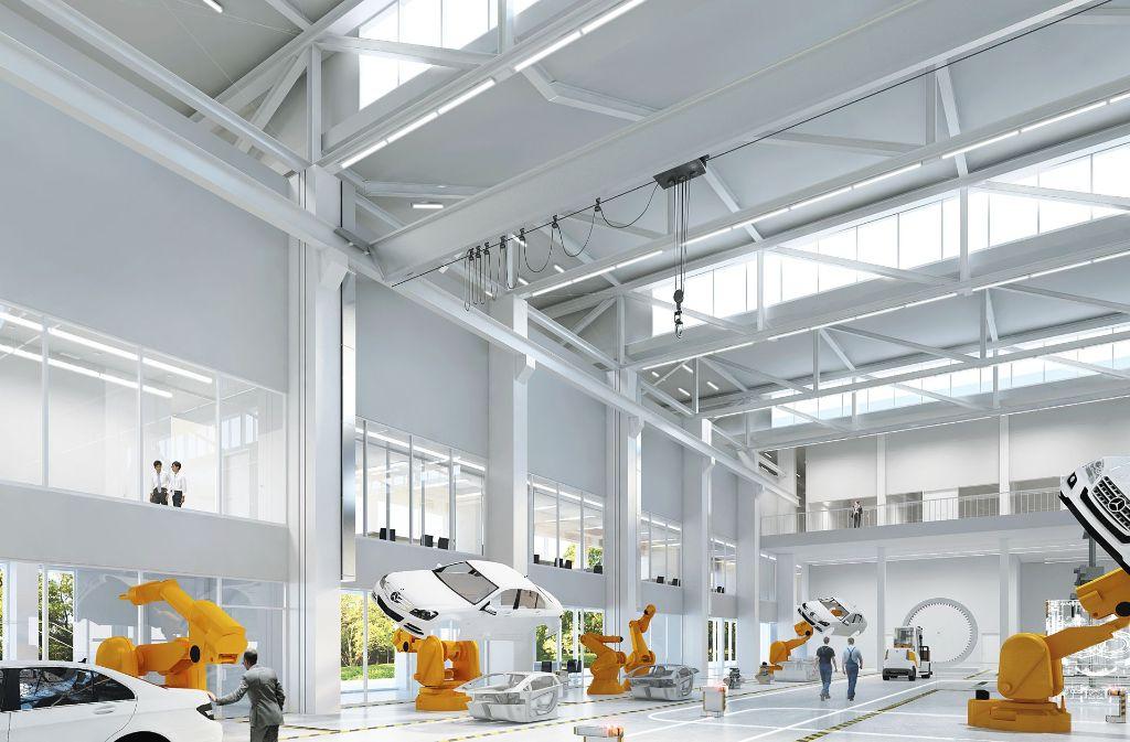 Daimler lockt Gründer bei seiner Start-up-Autobahn mit aufwendigen Erprobungsmöglichkeiten. Foto: Start-up Autobahn