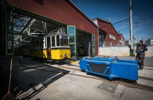Bewegung in der Straßenbahnwelt
