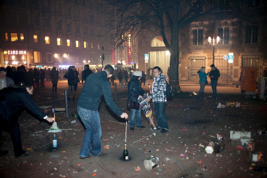 Silvester Feiern In Stuttgart