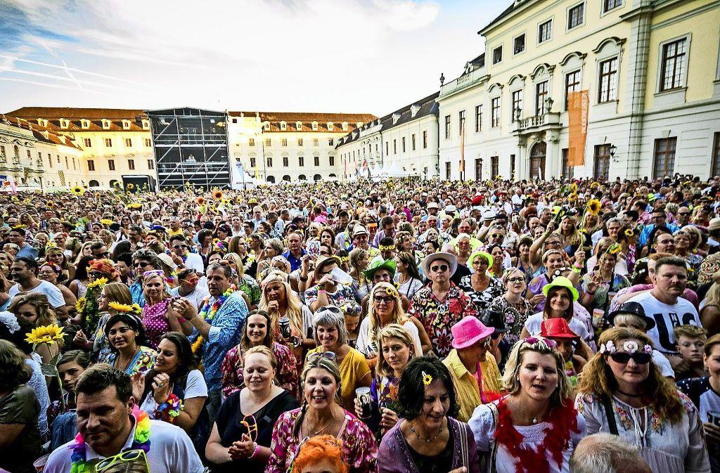 In Ludwigsburg fühlen sich nicht nur Ludwigsbürger pudelwohl. Foto: 7aktuell/Archiv