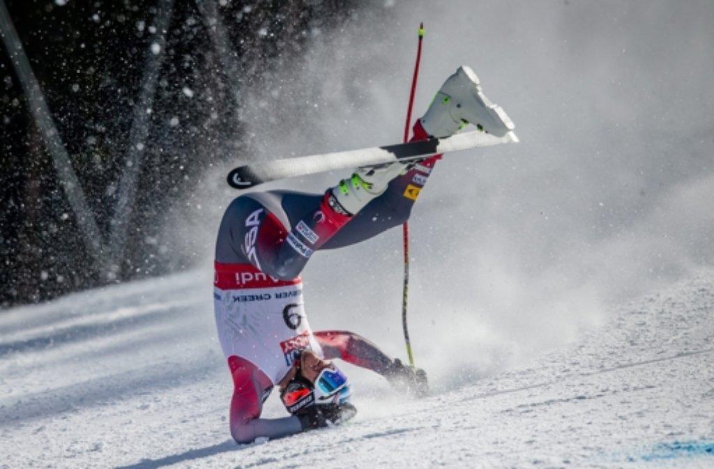 Bode Miller ist bei der Ski-WM in den USA schwer gestürzt.  Foto: dpa