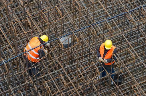 Bauboom sorgt für Umsatzschub bei Baufirmen