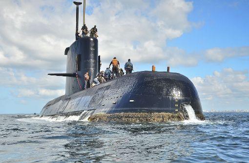 Marine erklärt U-Boot-Besatzung für tot