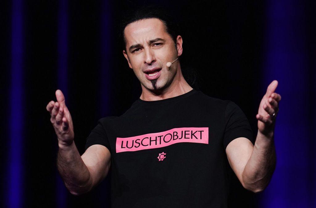 Bülent Ceylan ist einer der Comedians, die an der Videokonferenz teilnehmen. Foto: dpa/Uwe Anspach