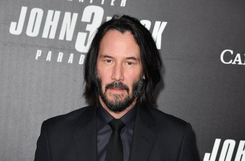 """Schauspieler Keanu Reeves ist im neuen Kinofilm """"John Wick: Kapitel 3"""" zu sehen. Foto: AFP"""