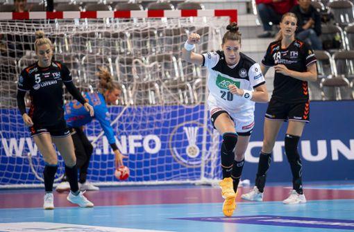 Deutsche Handballerinnen stürzen den nächsten Favoriten