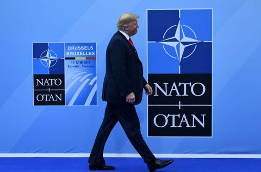 Trump will US-Beiträge  zur Nato kürzen