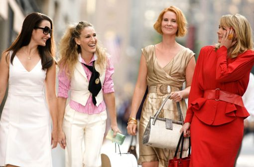 "Carrie Bradshaw aus ""Sex and the City"" gibt kurzes Comeback"