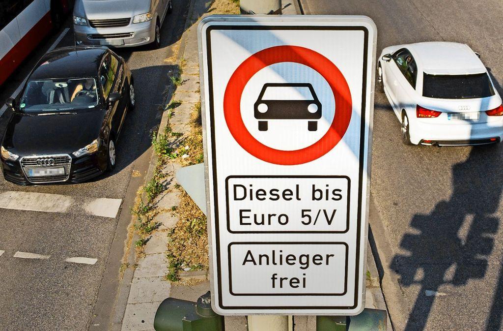 Fahrverbot Diesel Stuttgart