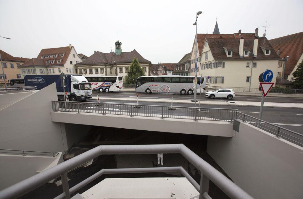 Acht Jahre hat es gedauert, die Augustinerbrücke in Esslingen zu sanieren. Foto: Horst Rudel
