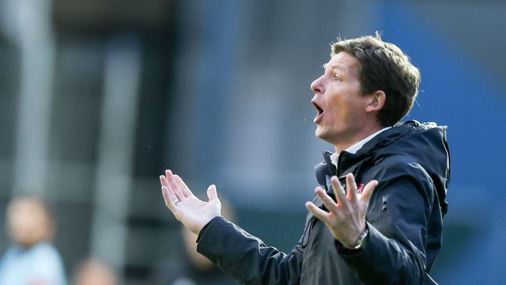 Der VfB beschäftigt sich mit Oliver Glasner