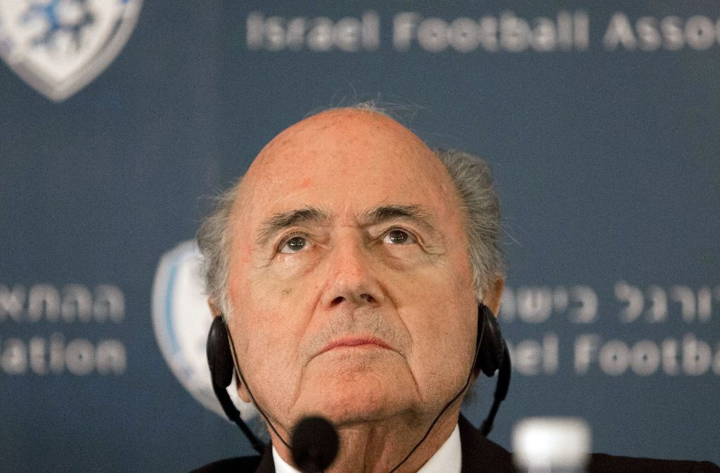 Der ehemalige FIFA-Präsidenten Joseph Blatter Foto: AP