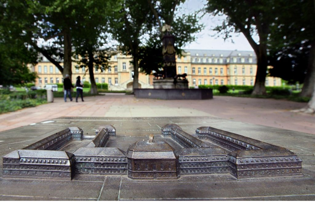 Der BUND warnt vor den Auswirkungen einer Bebauung des Akademiegartens am Stuttgarter Charlottenplatz. Foto: Achim Zweygarth