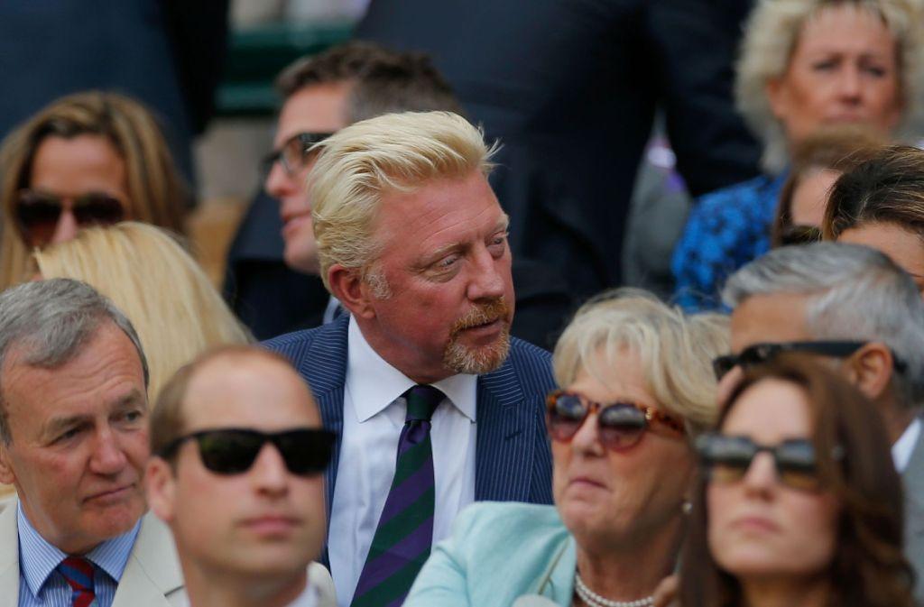 Ein Rechtsstreit um Schulden nagt am Image der deutschen Tennis-Ikone Boris Becker. Foto: POOL