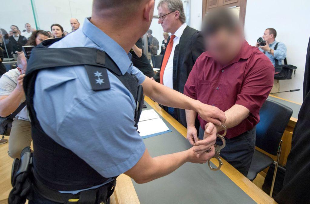 Das Landgericht Gießen stellte im Prozess um den Mord an der achtjährigen Johanna die besondere Schwere der Schuld bei dem Angeklagten fest. Foto: dpa