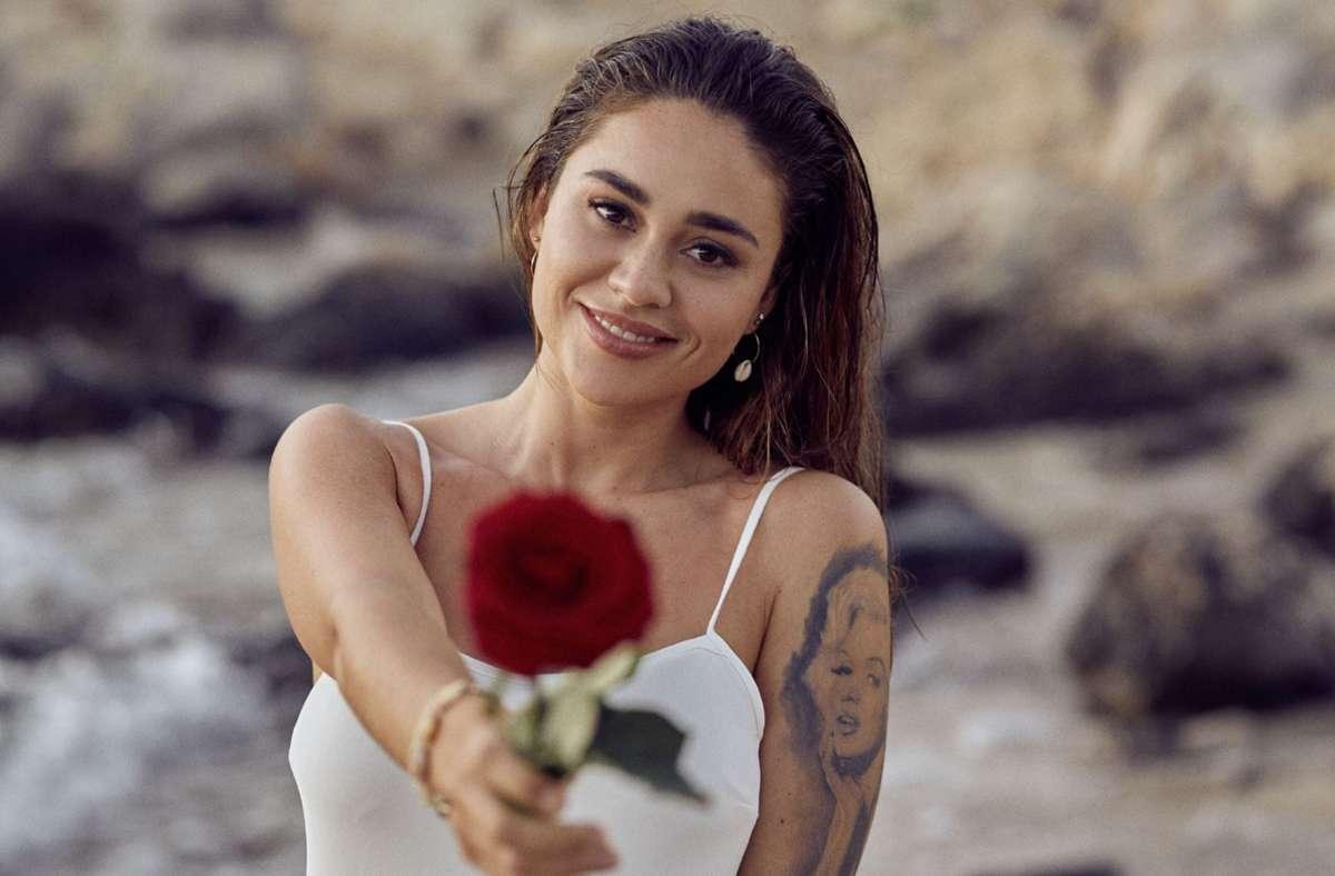 """Melissa Damilia aus Stuttgart,   die """" Bachelorette"""" der vergangenen Staffel, ist noch mit dem Gewinner Leander zusammen. (Archivbild) Foto: RTL/TVNOW"""